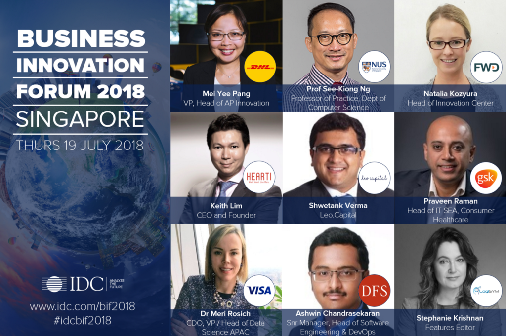 Hearti CEO, Keith, Will Speak at IDC's Business Innovation Forum