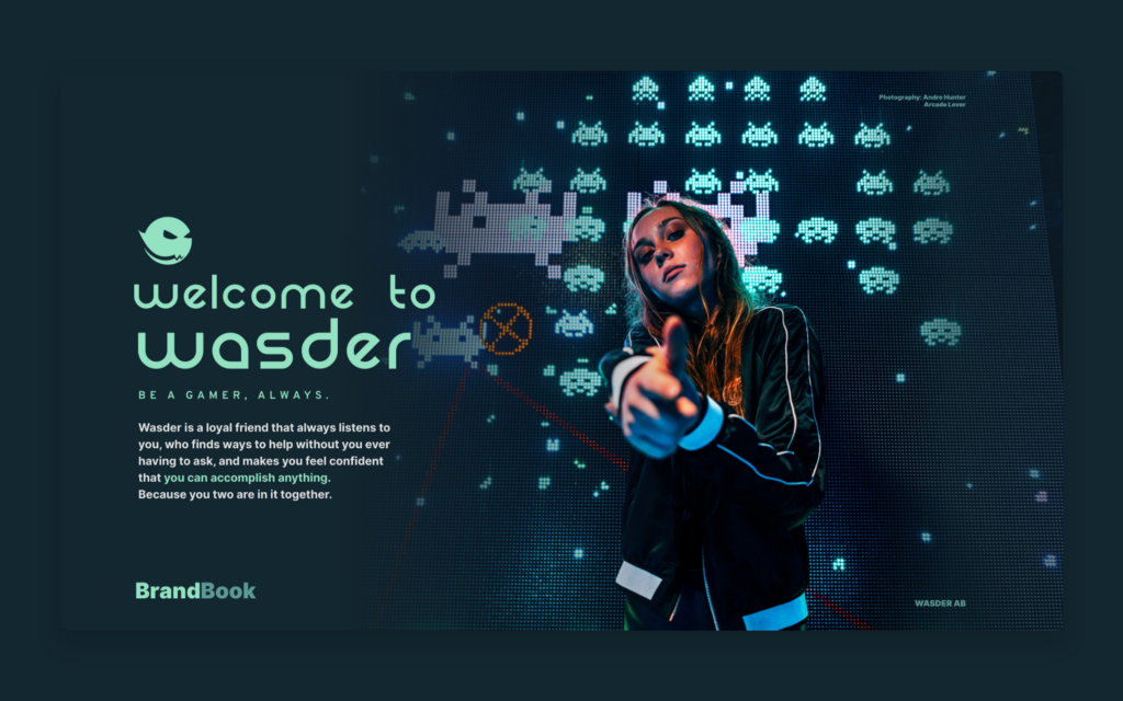 Welcome to Wasder — Be a gamer, always.