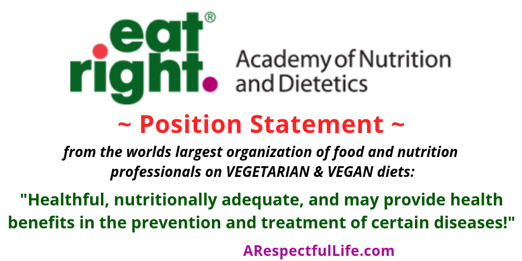 The Academy Of Nutrition And Dietetics Position On Vegan And