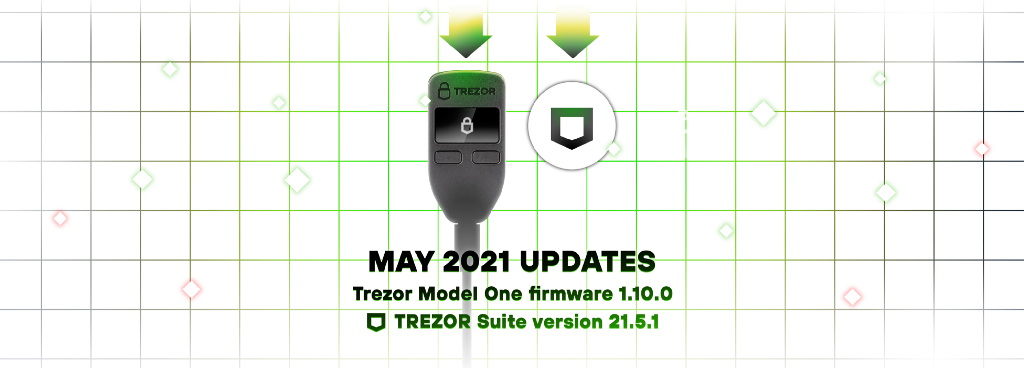 Trezor Model One firmware and Trezor Suite updates May 2021