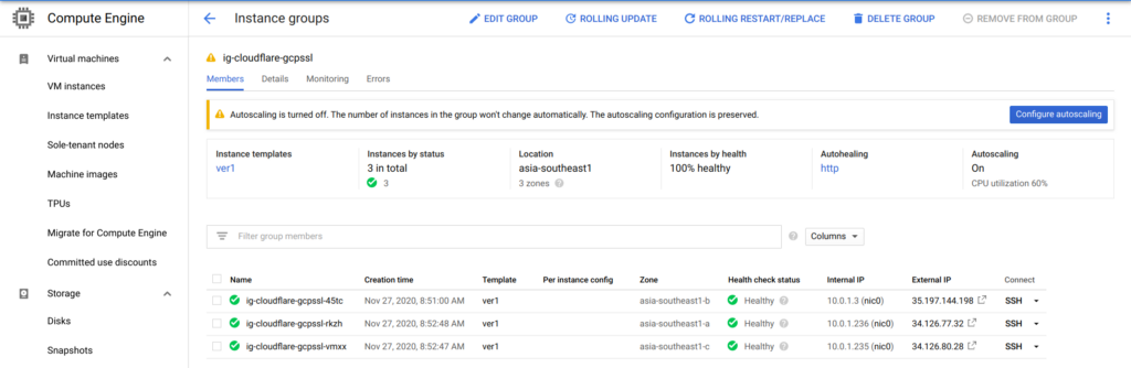 GCP Managed SSL and Cloudflare [Basic]