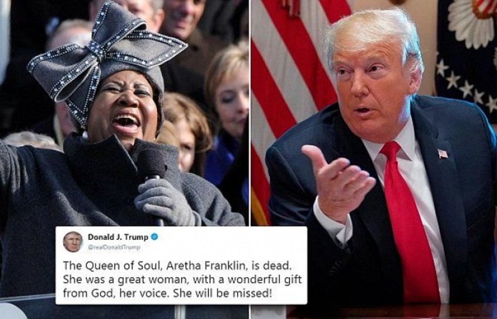 When a white supremacist eulogizes the Queen of Soul