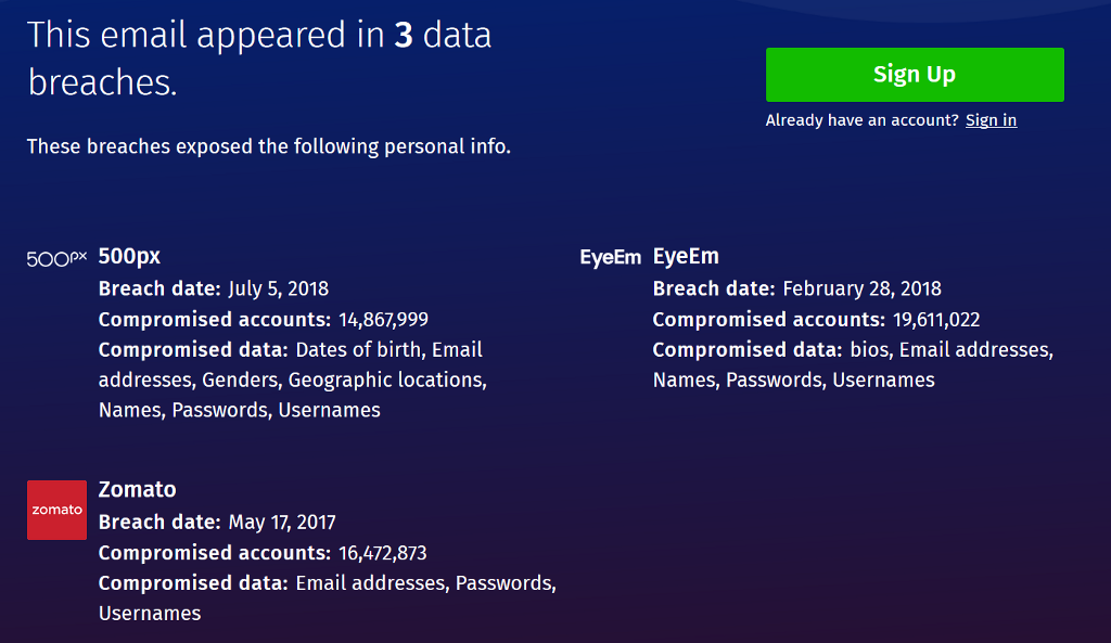 How To Know Whether Your Account Has Been Safe Till Now - By Sayinath