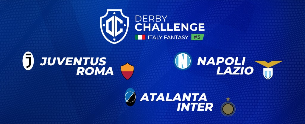 Italy Fantasy's last Derby Challenge brings you three giant games