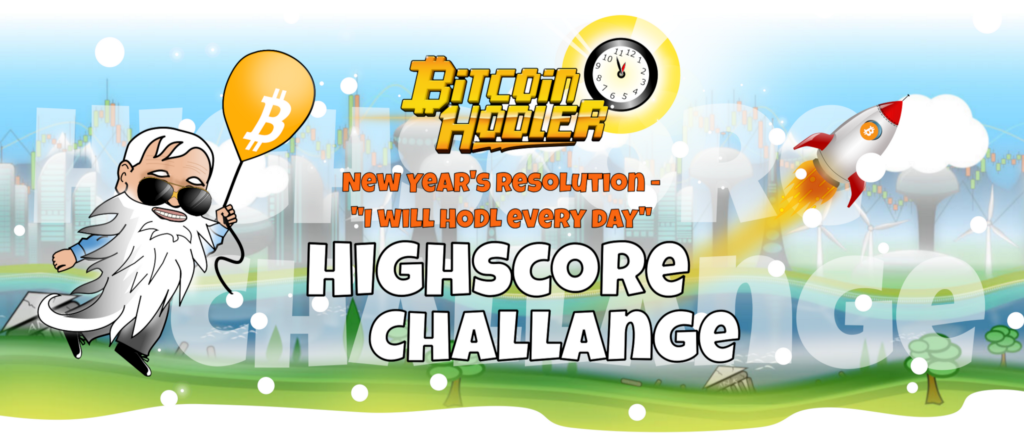 "New Year's Resolution ""I will HODL every day!"" — Highscore Challange"