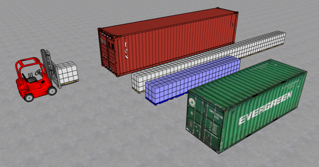 Maximize the Loading Capacity of a Sea Container to Reduce your Shipping Costs with Python