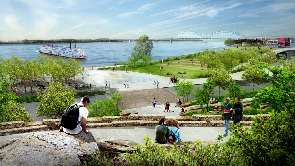 How the transformation of a Memphis park will bridge the gap of race and class