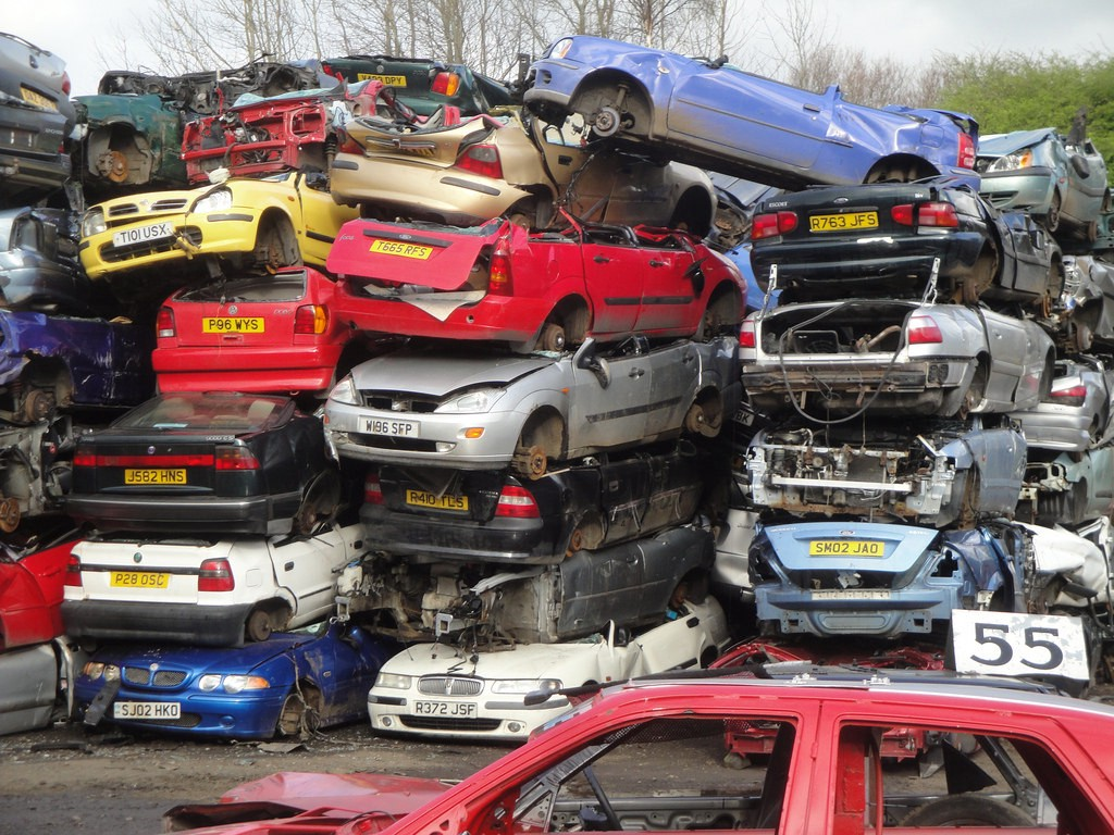 Get the information about scrap car prices in Canada