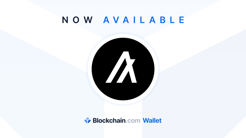 ALGO (Algorand) is now available in the Blockchain.com Wallet