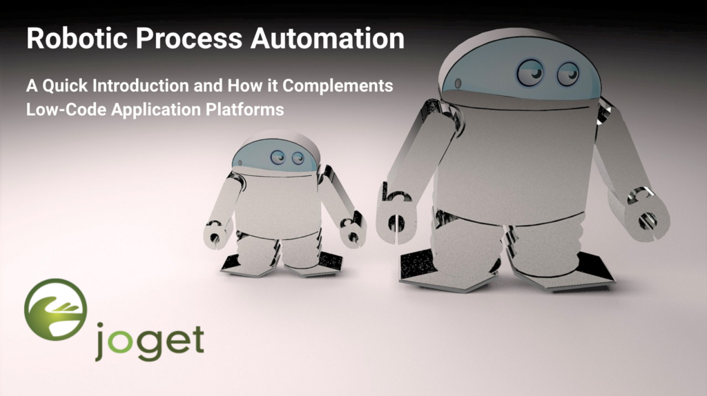 Robotic Process Automation - By