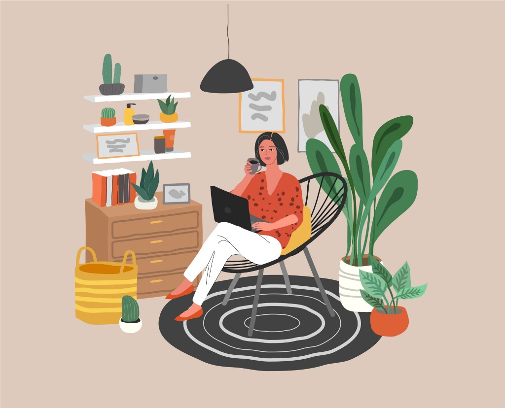 Keep up with your good habits when working from home