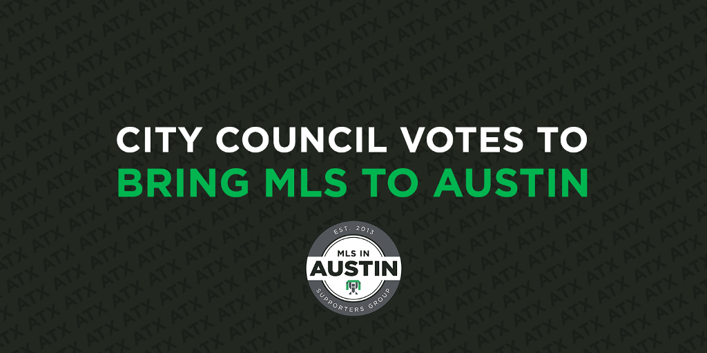 City Council Votes to Bring MLS to Austin