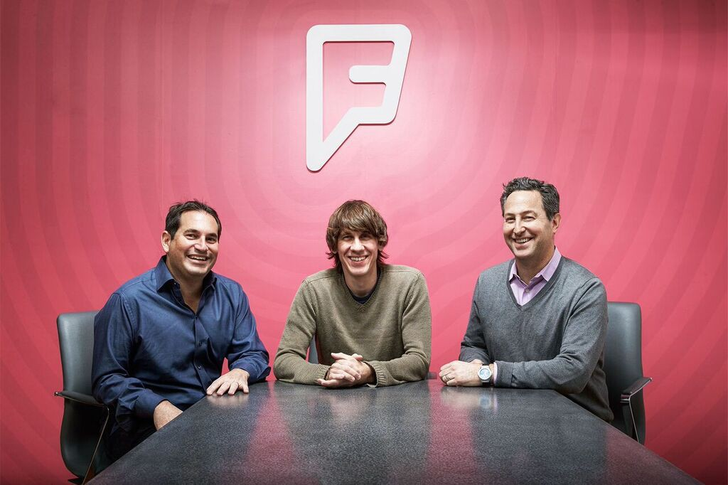 Foursquare executive team