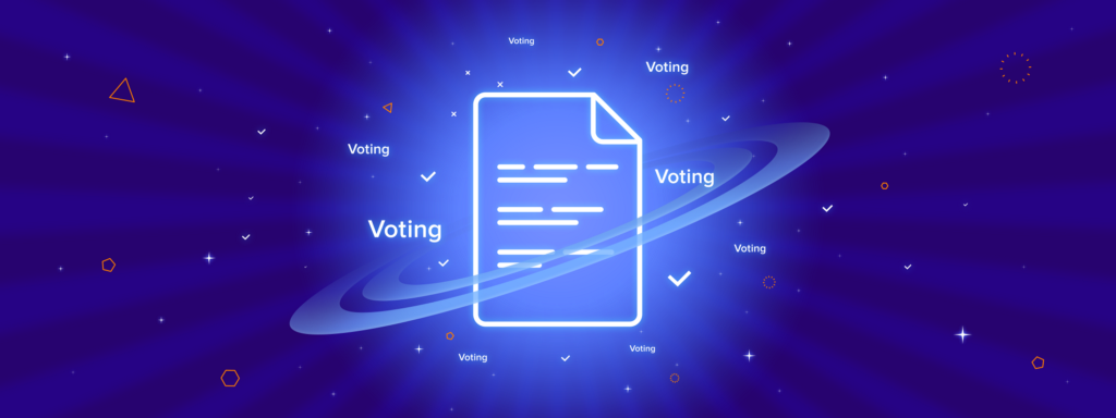 Voting for the updated White Paper