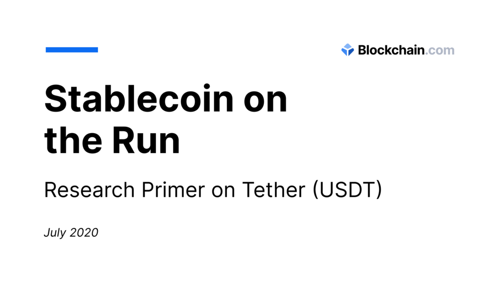 Stablecoin on the Run