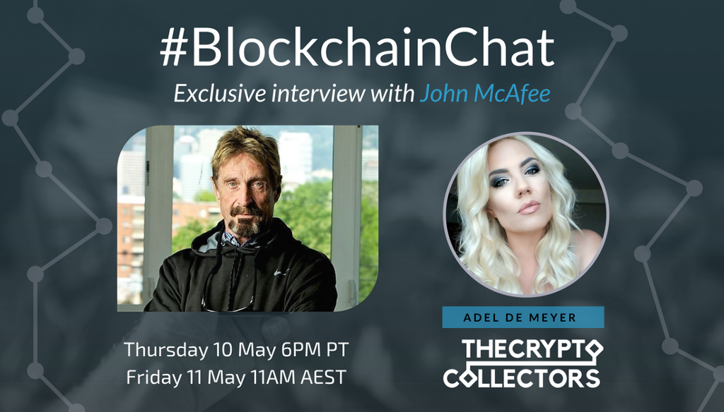 World's First Blockchain Twitter Chat is Launching with John McAfee