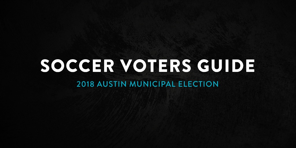 Austin Anthem Releases Local  Soccer Voters Guide