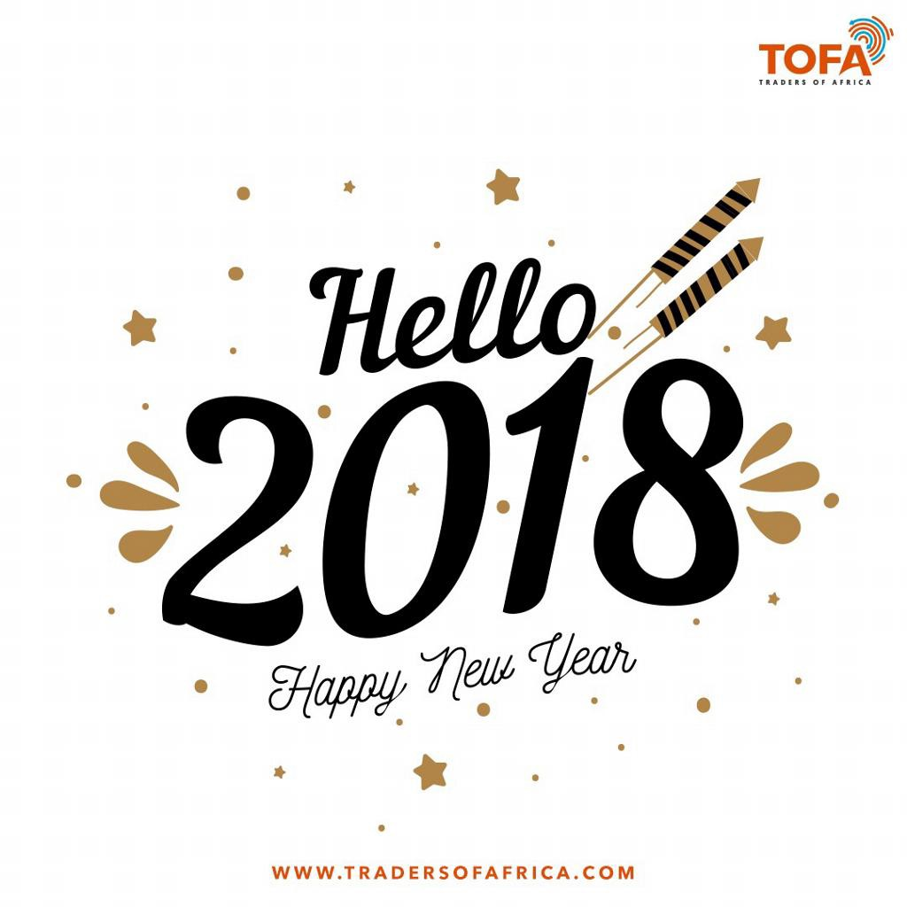 Happy new year 2018 – Traders of Africa – Medium
