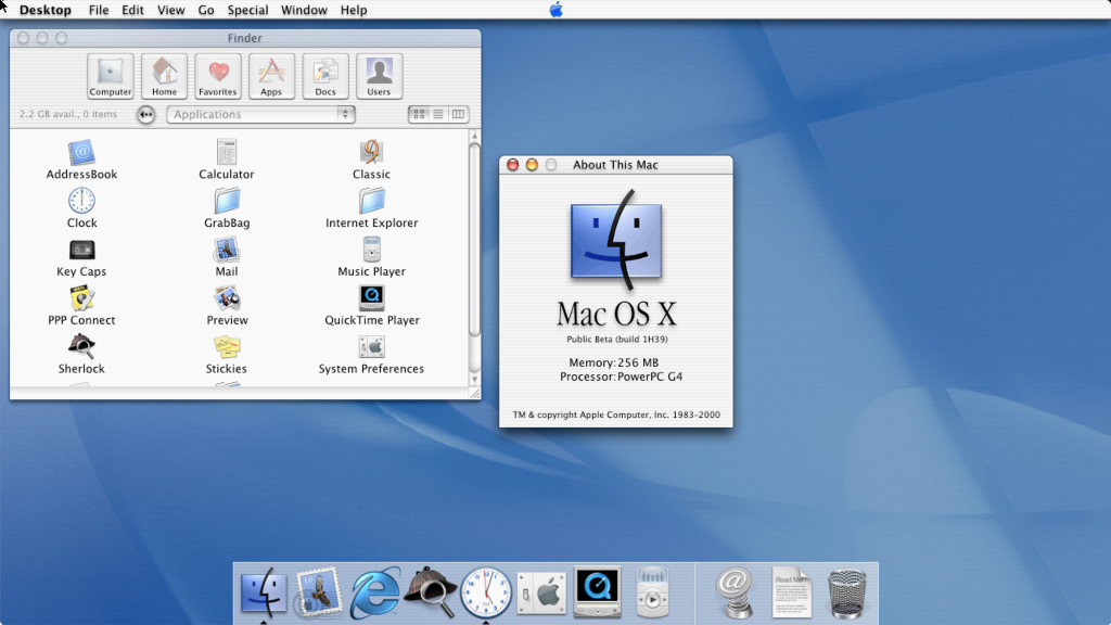 OS X, 20 Years Later