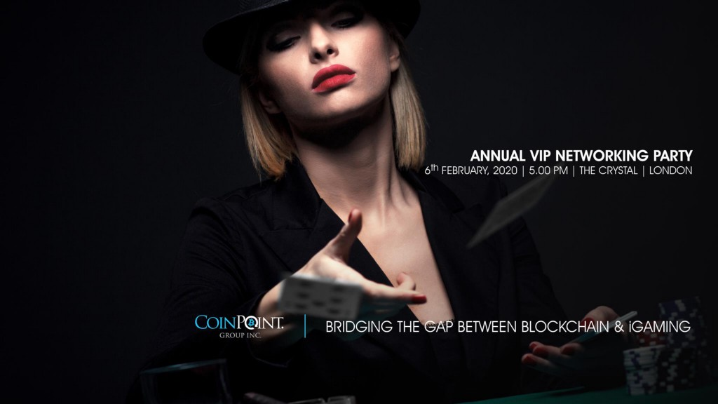 February 6th, 2020, London: The Premium Blockchain Networking Event for the iGaming industry