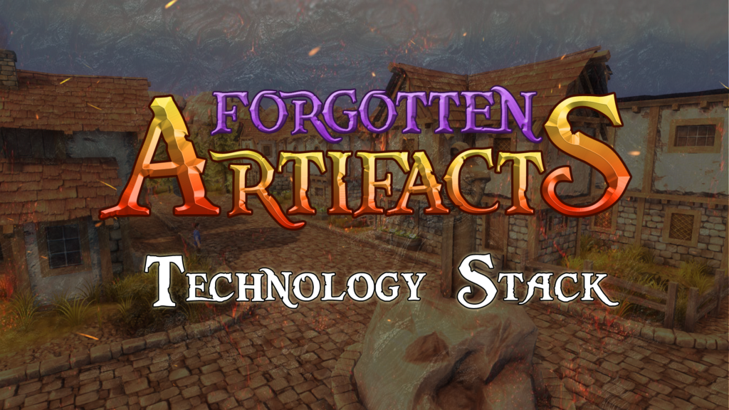 The Technology Stack powering Forgotten Artifacts