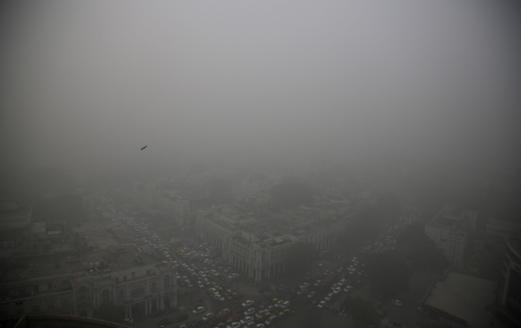 India's polluted air now kills 1.1 million people per year