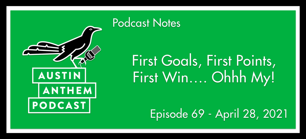 Podcast: First Goals, First Points, First Win…. Ohhh My!