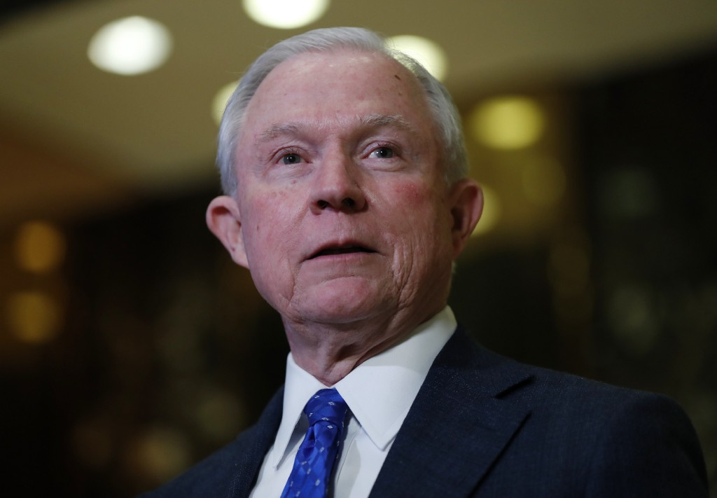 Jeff Sessions sought a criminal investigation against a liberal group for engaging in free speech