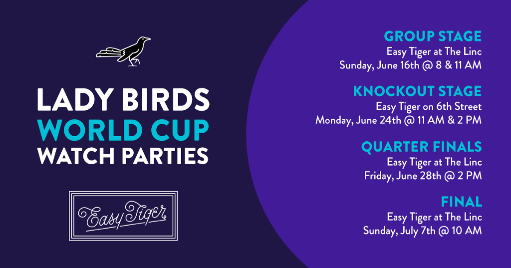 2019 Women's World Cup Watch Parties, Hosted By the Lady Birds of Austin Anthem