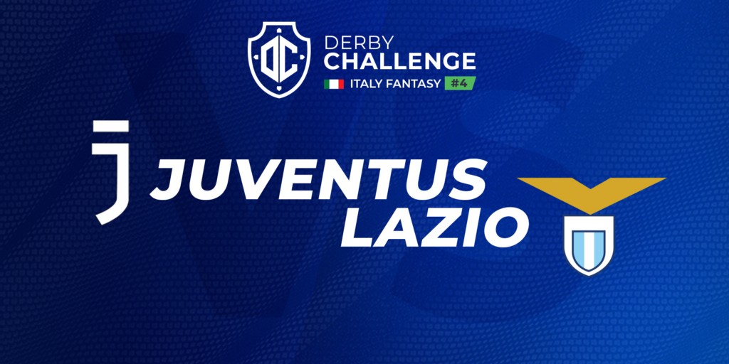 Juventus x Lazio is the fourth Derby Challenge from Italy Fantasy League