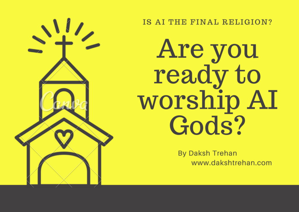 Are You Ready to Worship AI Gods?