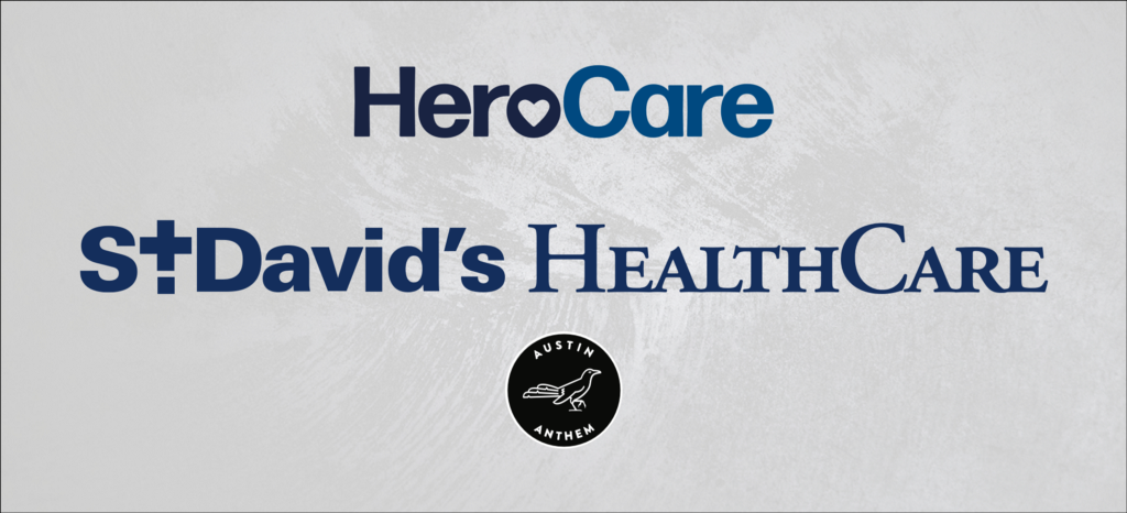 Join Austin Anthem in supporting St. David's Healthcare #HeroCare