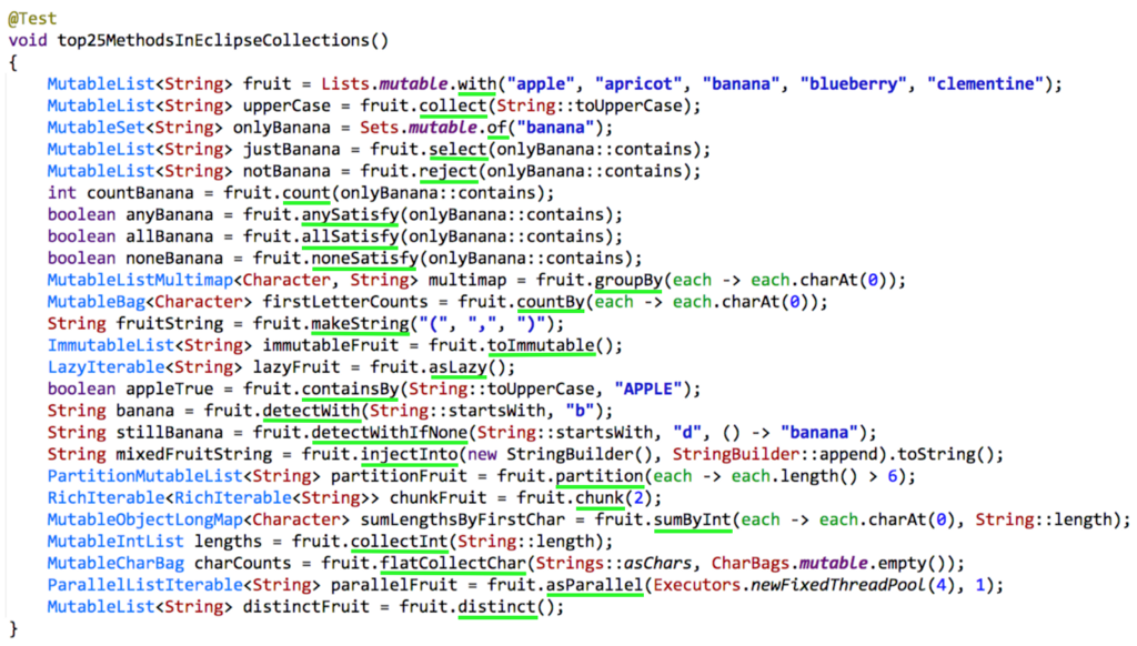 Donald Raab: My 25 favorite Eclipse Collections APIs