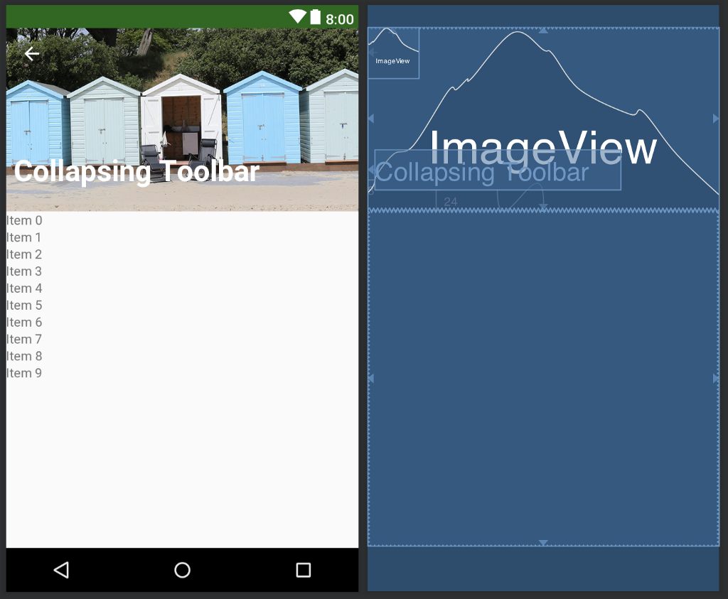 How to Disable CollapsingToolbarLayout Animation—Android