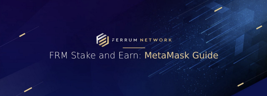 - 1 PizFKsI2tKJ OaGaYHY4uA - FRM Stake and Earn: MetaMask Guide