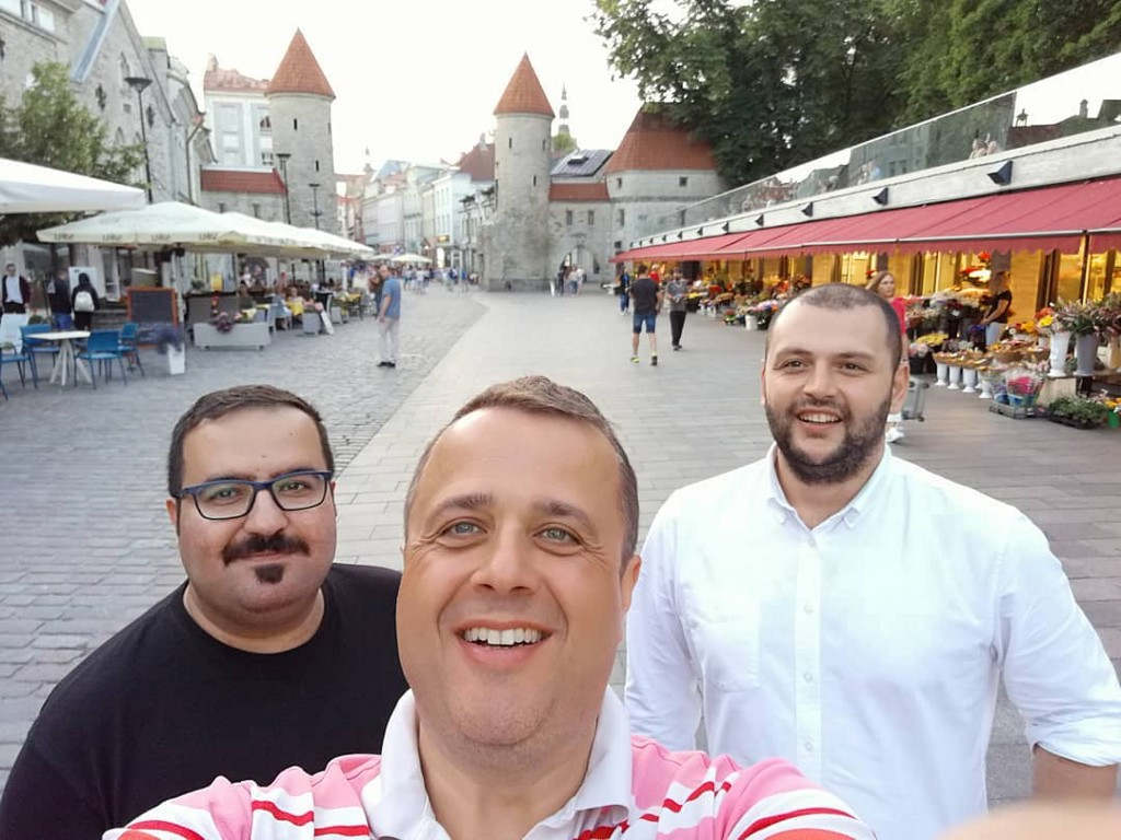 Reaching People: From Istanbul to Europe Via Estonia