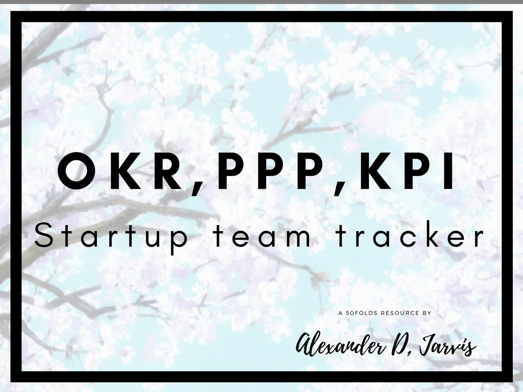 free okr ppp and kpi manager for small startup teams in google sheets
