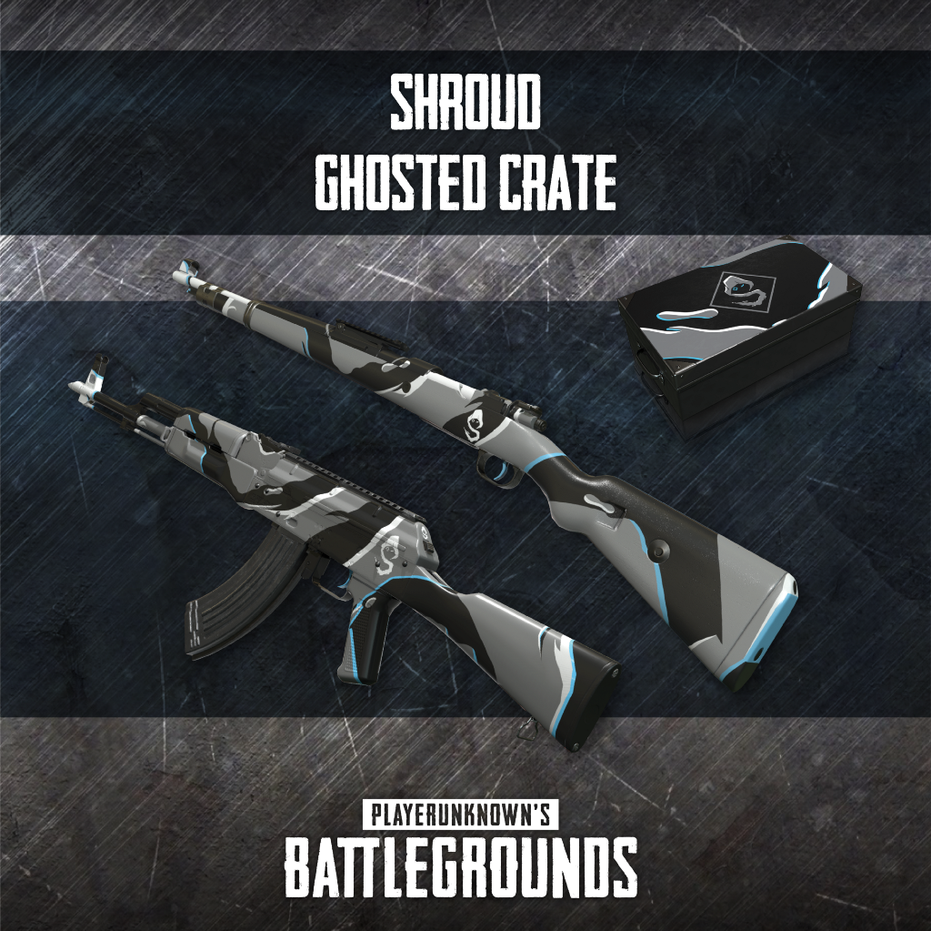 Get DrDisRespect and Shroud PUBG weapon skins directly on Twitch
