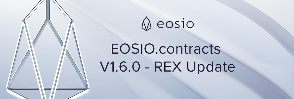 EOSIO.contracts Version 1.6.0.