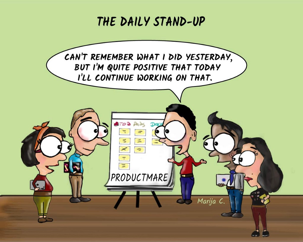 Scrum gone wild in 15 cartoons - By Marija Cvjetkovic