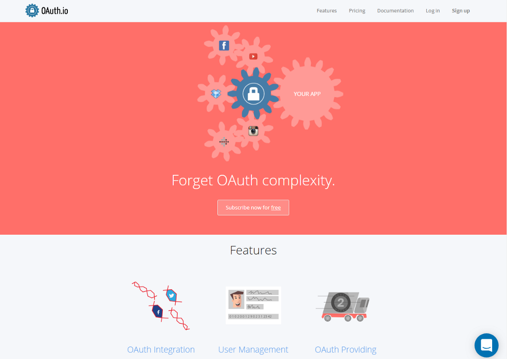 Create simple OAuth Vue Component with Oauth i (Example)