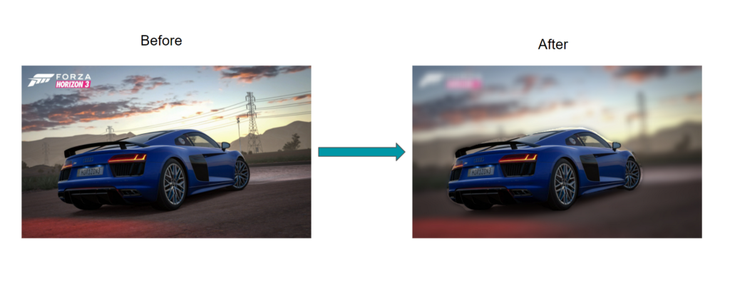 How to get background blur using Deep Learning?