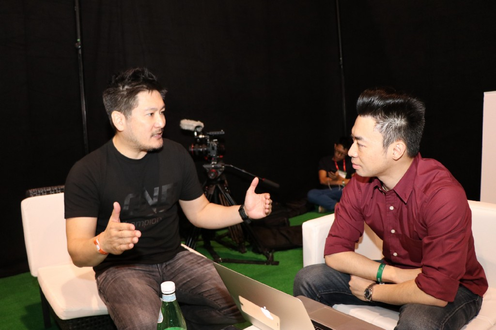 Chatri Sityodtong founder of ONE Championship, a US $1 bn valuation startup.