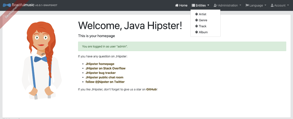 Two Hip Friends—JHipster and Neo4j