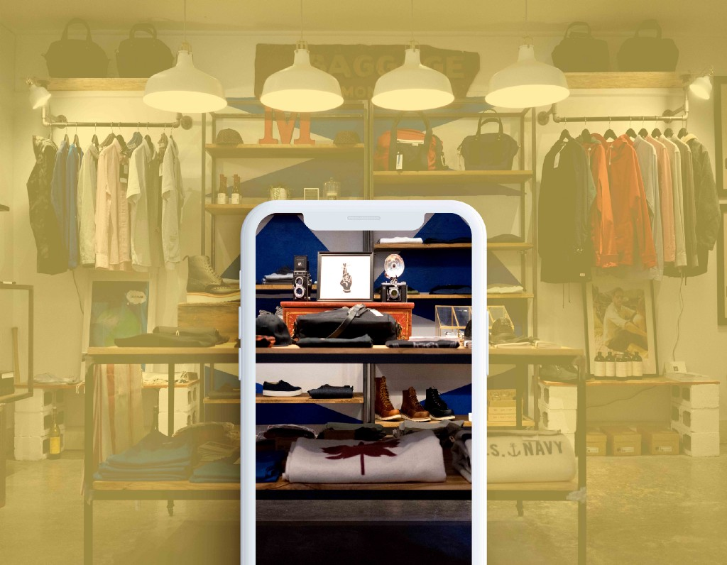 The physical shopping experience in an app—a UX case study