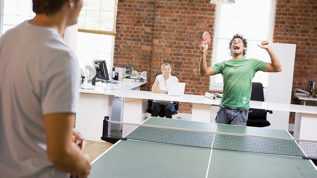 Big Perks For Your Small Startup: The Ping Pong Table