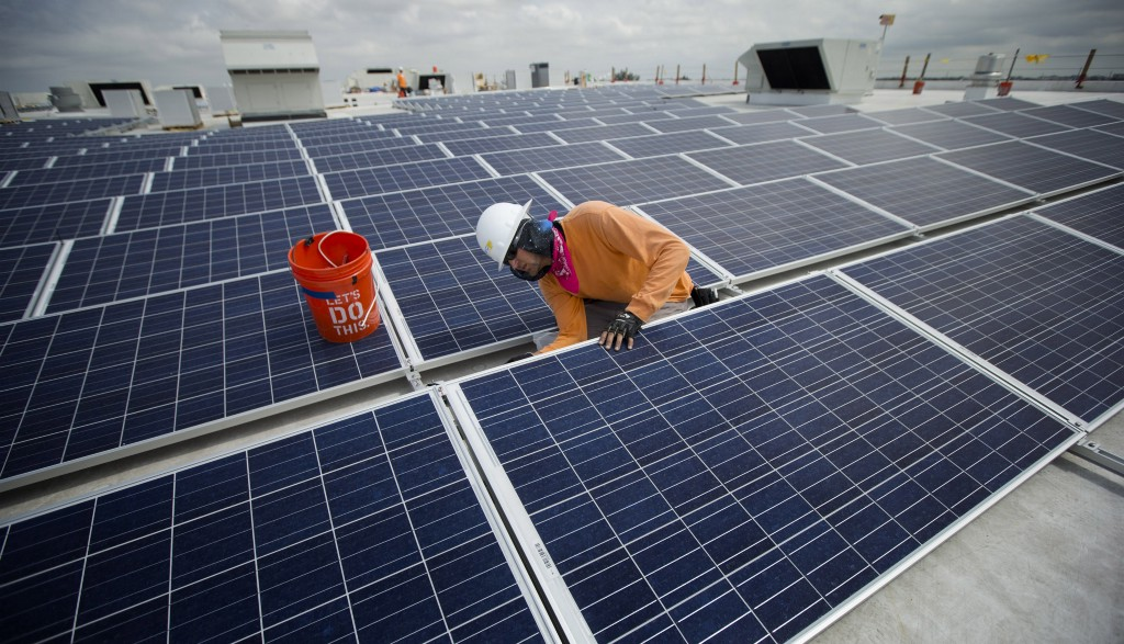 U.S. solar installations jumped 95 percent last year