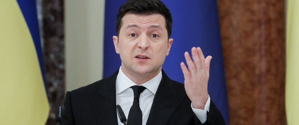 Facebook removes Ukrainian pages promoting Zelensky's political party