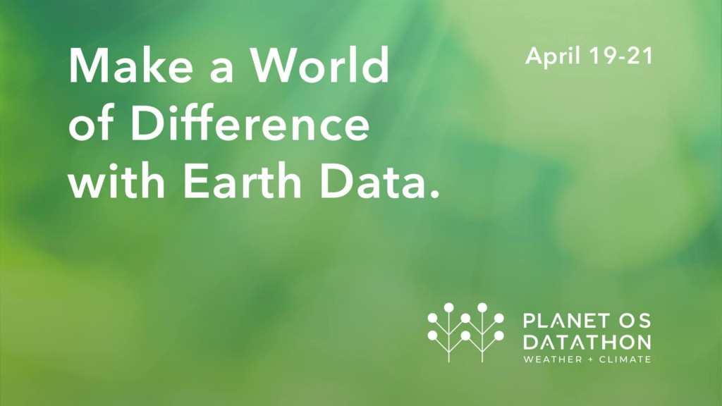 Science, Data, and Creativity—The Trio of Modern Problem Solving. Planet OS Datathon