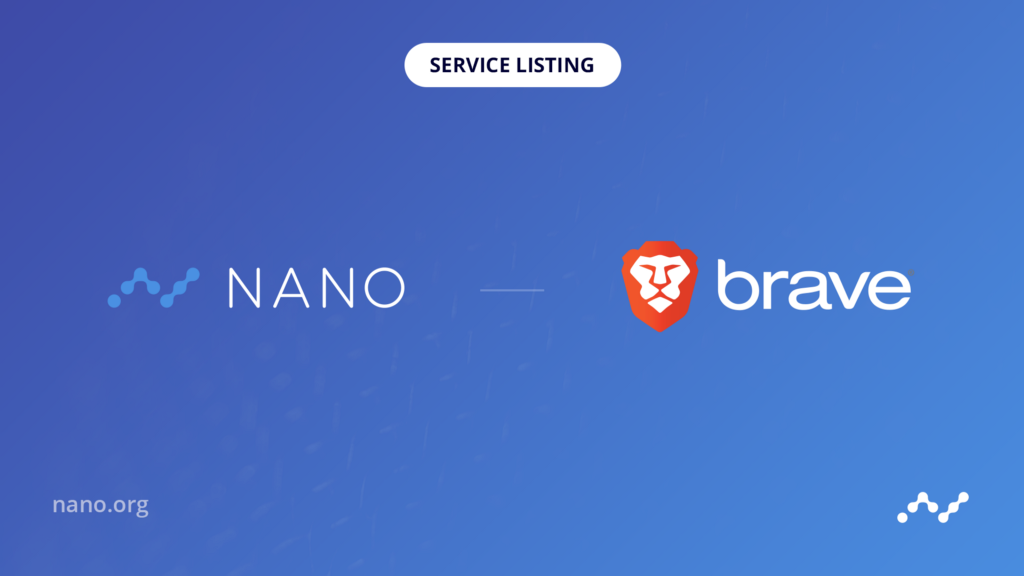 Nano Now Available Inside Brave Browser
